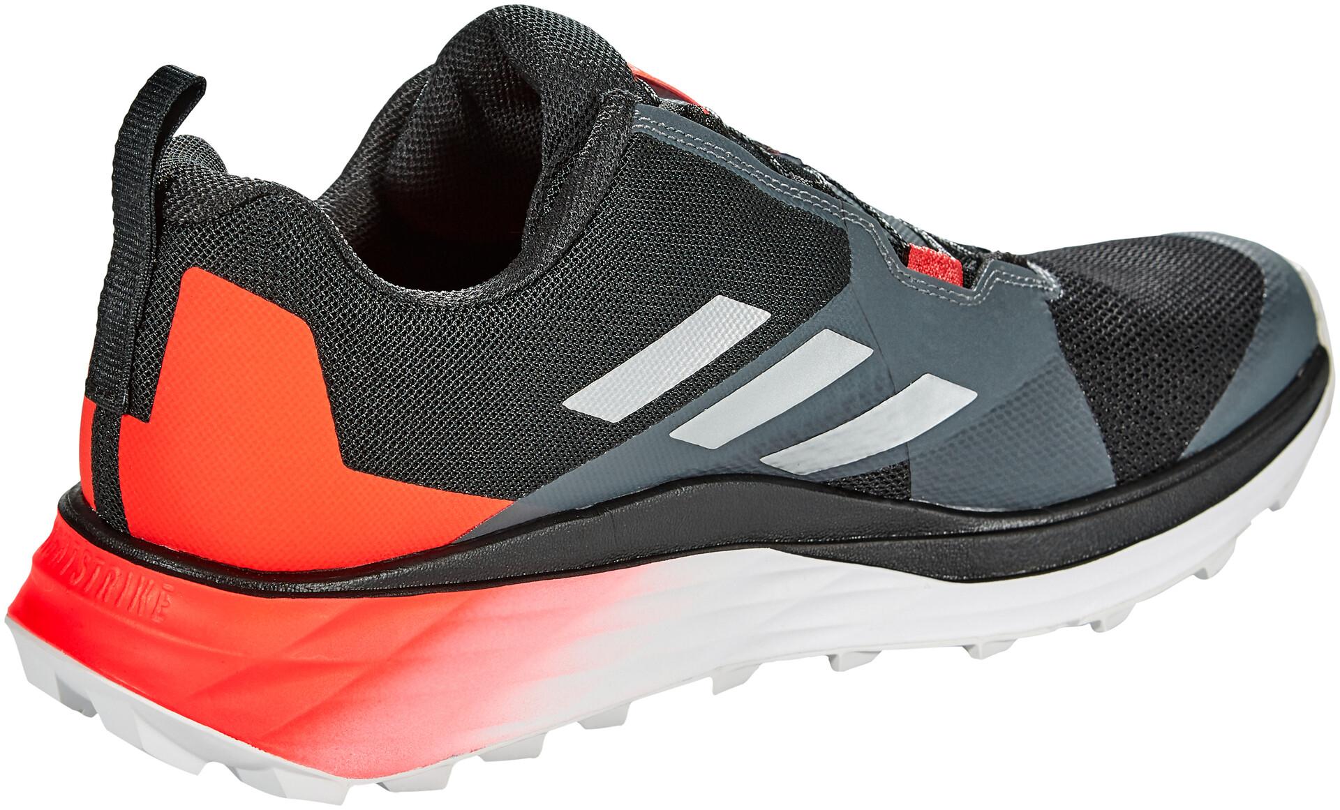 adidas TERREX Two Boa Løbesko Herrer, core blacksilver metalsolar red